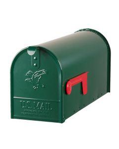 Grüne US Mailbox Briefkasten