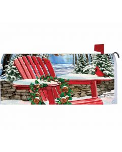 Mailbox Cover Winter Adirondack von American Heritage