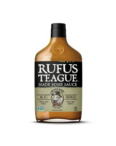 Rufus Teague KC Gold Mustard BBQ Senfsauce aus Kansas von American Heritage