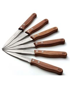 Steak-Messer Set Rosewood Outset
