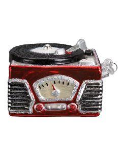 Weihnachtsanhänger Schallplattenspieler Record Player von American Heritage