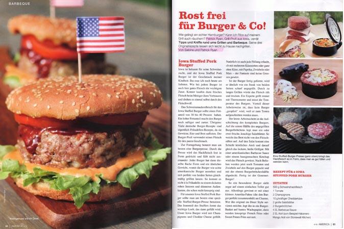 Drei köstliche BBQ-Rezepte von American Heritage
