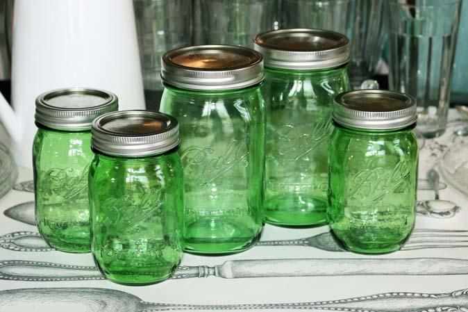 Neu bei American Heritage: Grüne Ball Mason Jars - Sonderedition