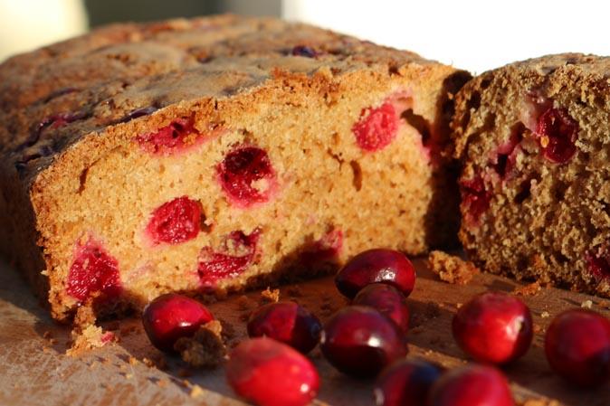 Happy Thanksgiving mit unserem Rezept für Cranberry-Brot