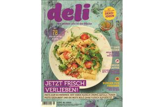 Deli Ausgabe 1-2015 mit Burgerrezepten