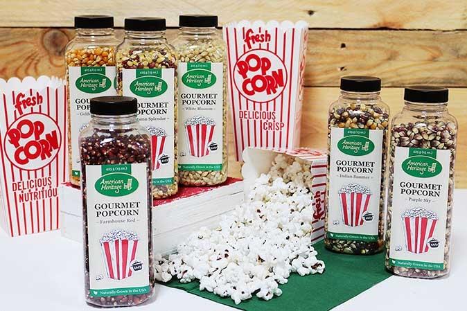 Gourmet-Popcorn von American Heritage