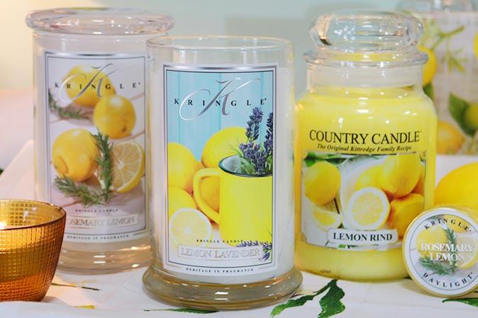 Frühlingsdüfte und Neuheiten von Kringle Candle
