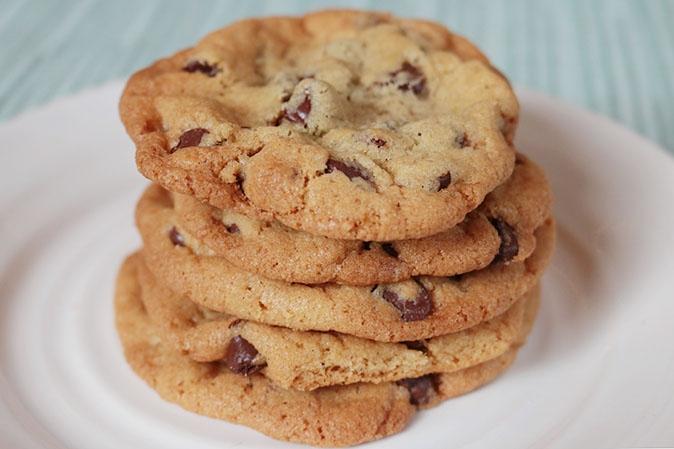 Chocolate Chip Cookies gebacken nach dem überlieferten Rezept der Familie Ryan
