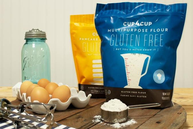 Cup4Cup glutenfreie Backmischungen