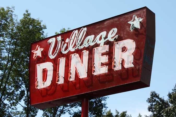 Amerikanischer Diner - American Heritage liebt den Retro-Stil