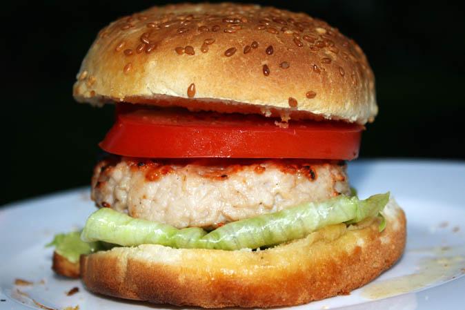 Grillen: Der erste Party-Puten-Burger - kann Frau auch!