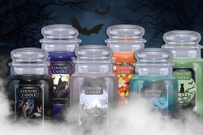 Halloween bei American Heritage mit Limited Edition Duftkerzen