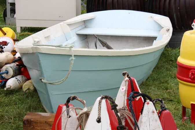 Ein Boot für American Heritage