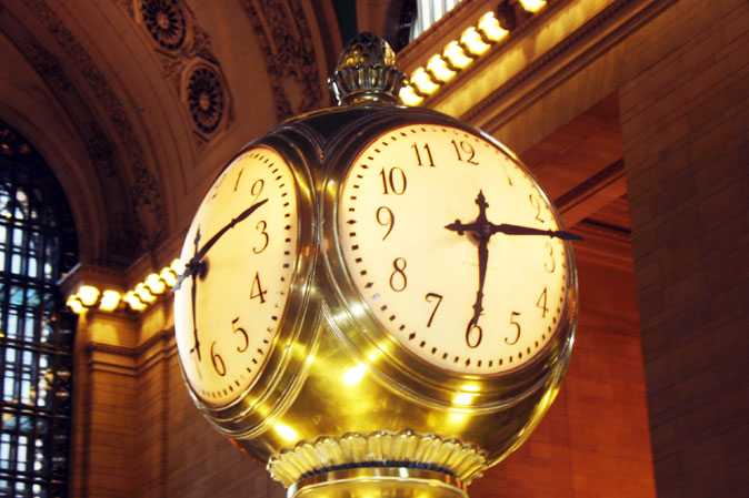 Grand Central Station Clock in New York