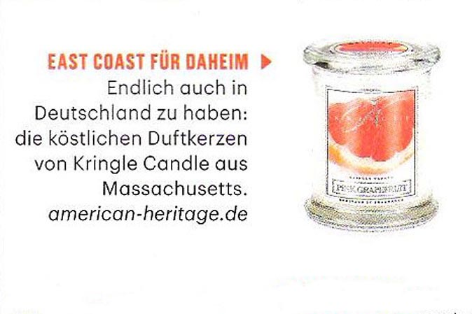 Pink Grapefruit von Kringle Candle bei American Heritage