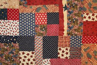 Amerikanischer Quilt