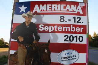 Informationsschild zur Americana 2010