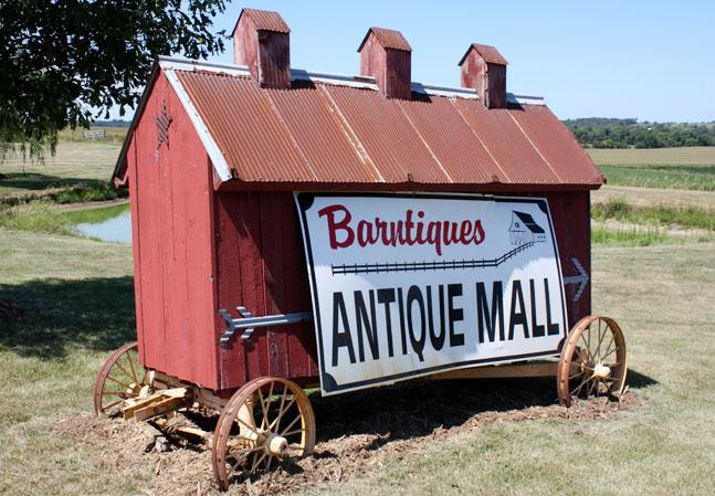 Weg Beschreibung zur Antiquen Mall