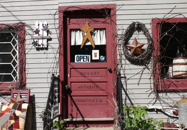 Antiquitätenladen aus Neu-England