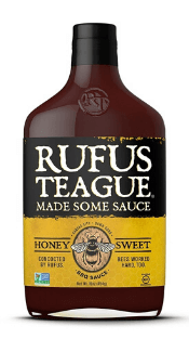 Honey Sweet BBQ Sauce von Rufus Teague