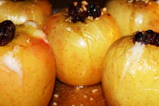 Bratäpfel mit Cranberries