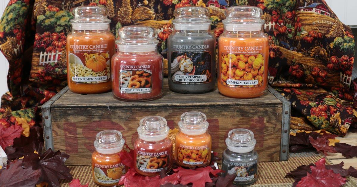 Herbst Duftkerzen