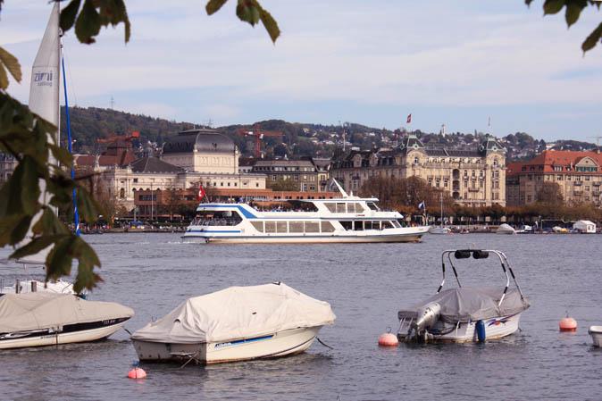 Ausblick auf den Zürichsee
