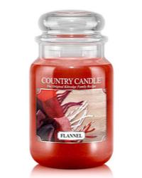 Herbstduft Flannel Kerze