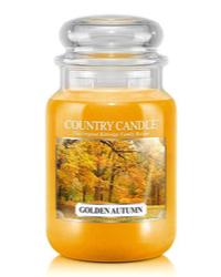 Herbstliche Duftkerze Golden Autumn