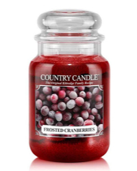 Kerze Herbst Frosted Cranberries