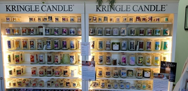 Kringle Candle Sortiment bei American Heritage