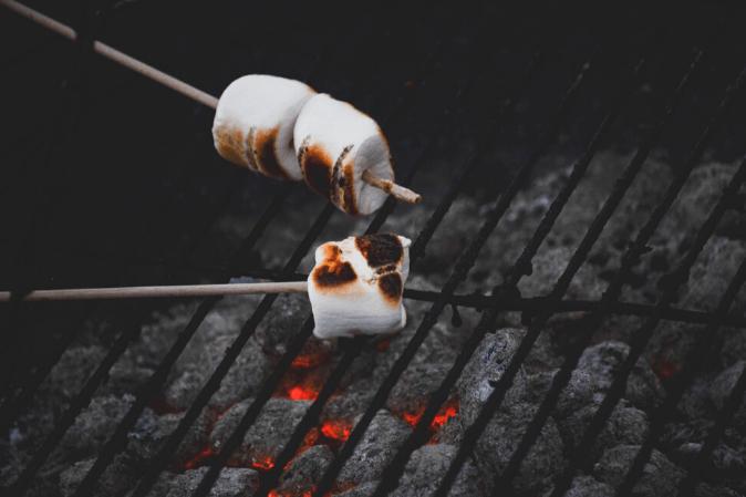 Marshmallows Grillen