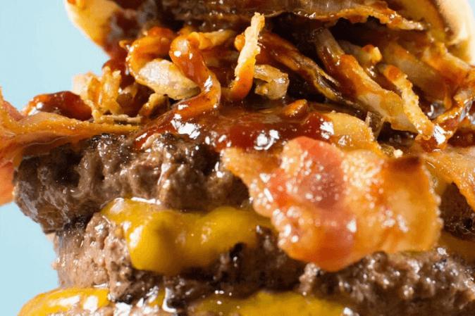 Mega Western BBQ Burger