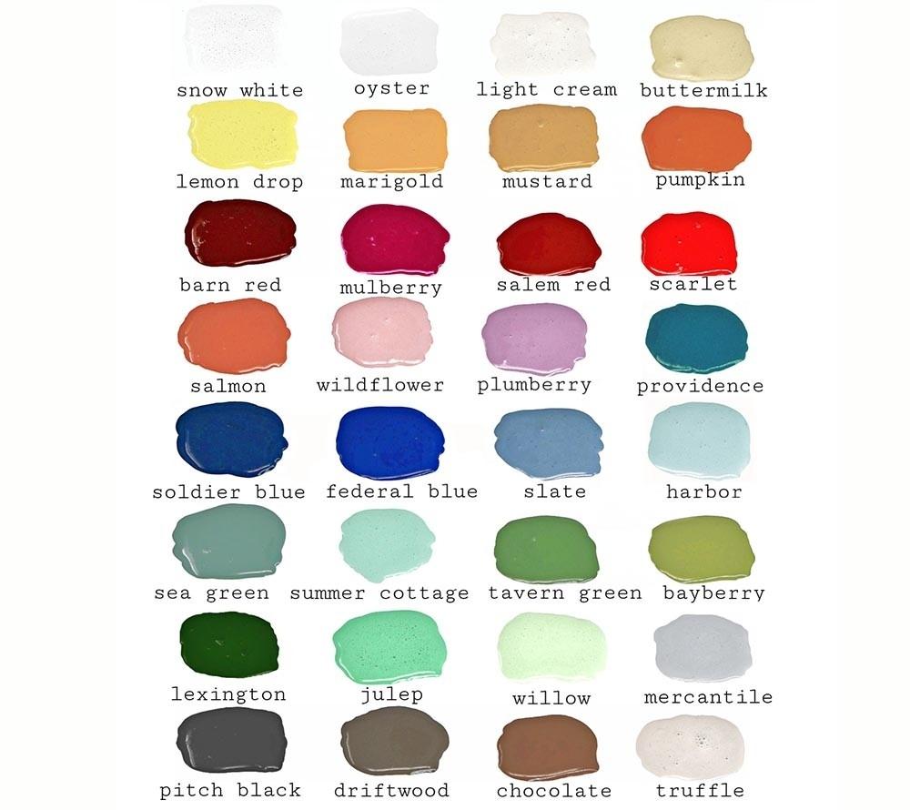 Milk Paint Farben