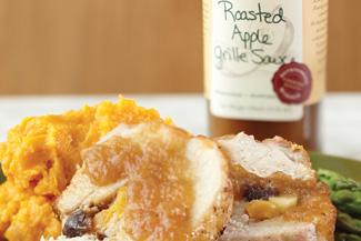 Pork with roasted Apple-Sauce