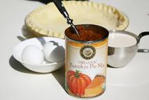 Zutaten für einen Pumpkin Pie