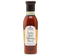 Smoky Peach Whiskey Sauce