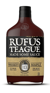 Whiskey Maple BBQ Sauce von Rufus Teague