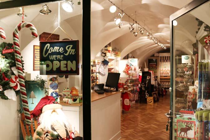 Shopping in Salzburg: American Heritage in der Goldgasse 12