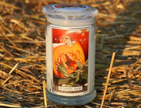 Neu von Kringle Candle: Pumpkin Sage!